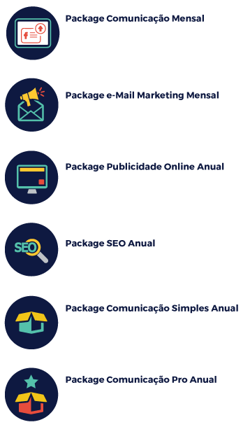 Packages Marketing Digital
