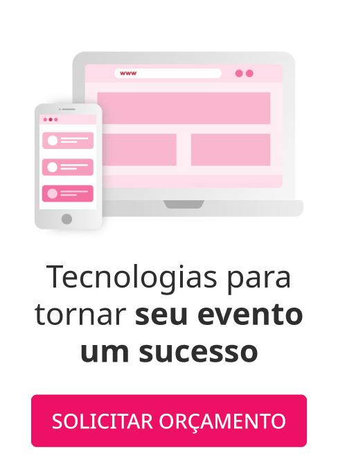 Faça agora um bate papo sobre o uso de tecnologia em eventos com um de nossos consultores de venda