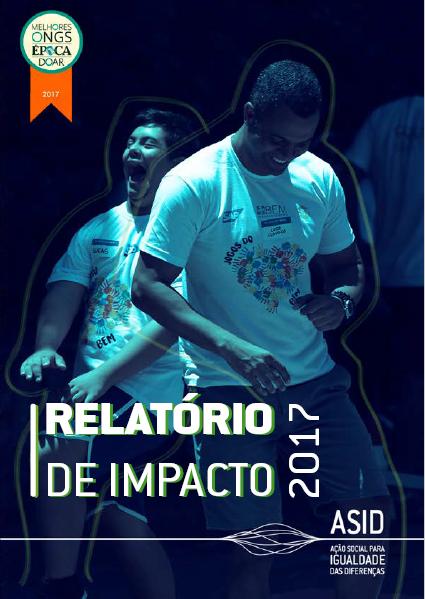 Relatório de Impacto 2017