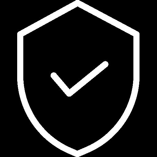 Símbolo de proteção. Escudo.