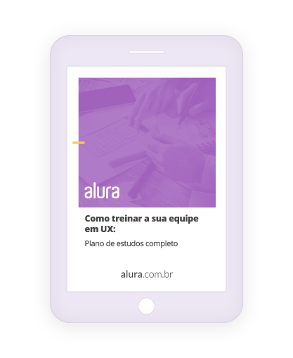 Ebook UX plano estudos user experience