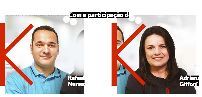 Com a participação de Rafael e Adriana