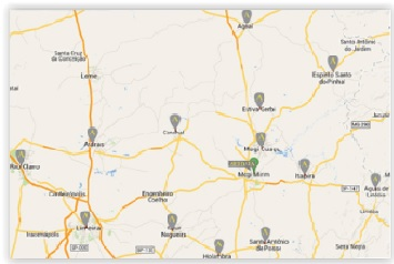 Mapa Artdata