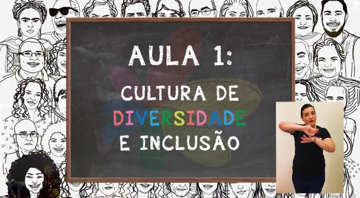 imagem do tema da aula um: cultura de diversidade e inclusão
