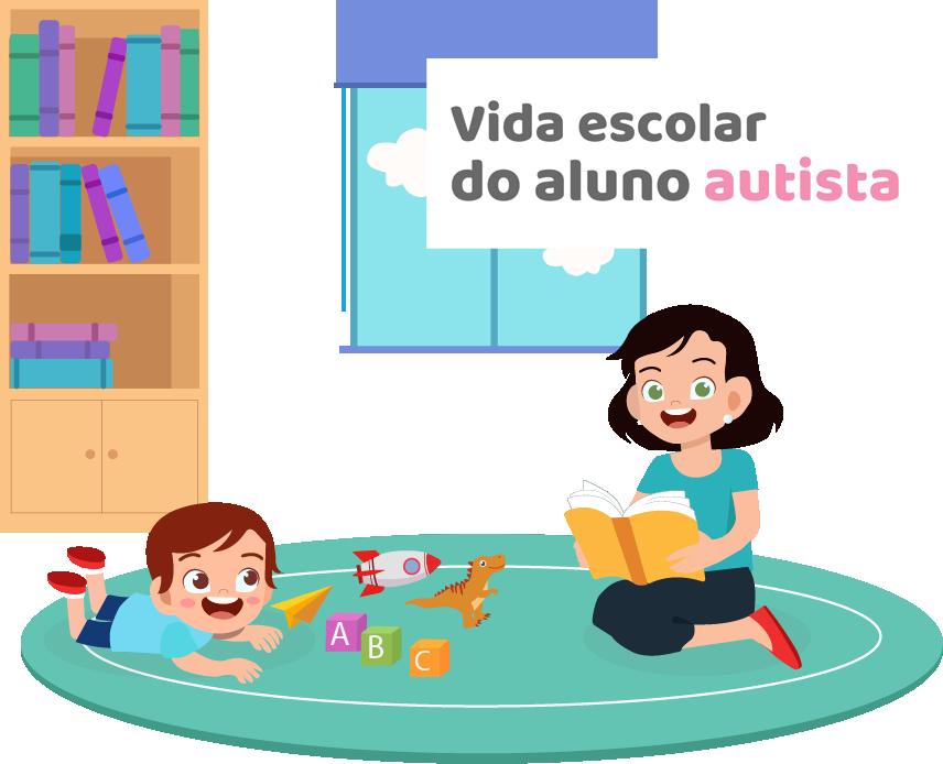 Vida escolar do aluno autista