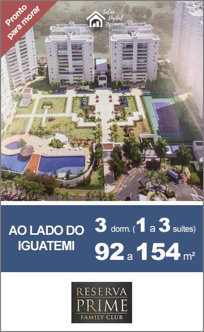 Lançamento Reserva Prime Vila Brandina