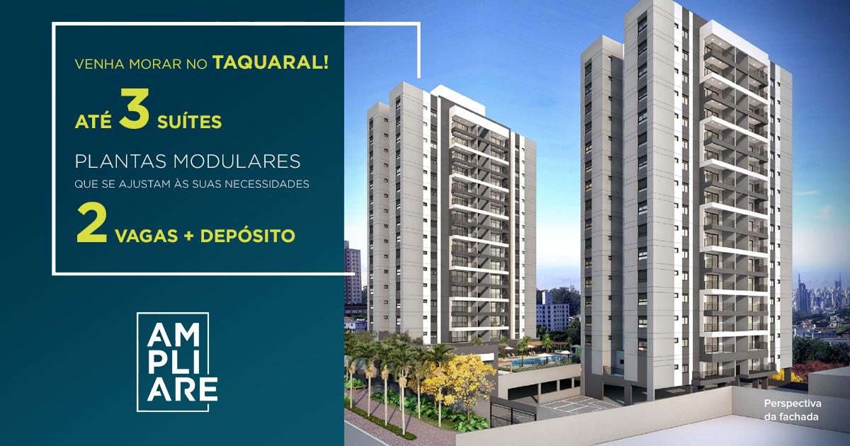 Lançamento Apartamentos Ampliare - Taquaral