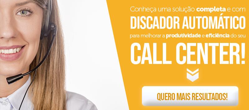 Gerencie a sua operação com eficiência, aumente a produtividade dos agentes e o número de chamadas bem sucedidas.
