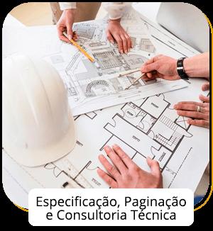 Especificação, Paginação e Consultoria Técnica