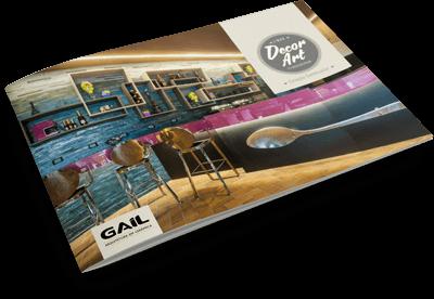 Catálogo Gail - Linha Decor Art - Coleção Combicolor
