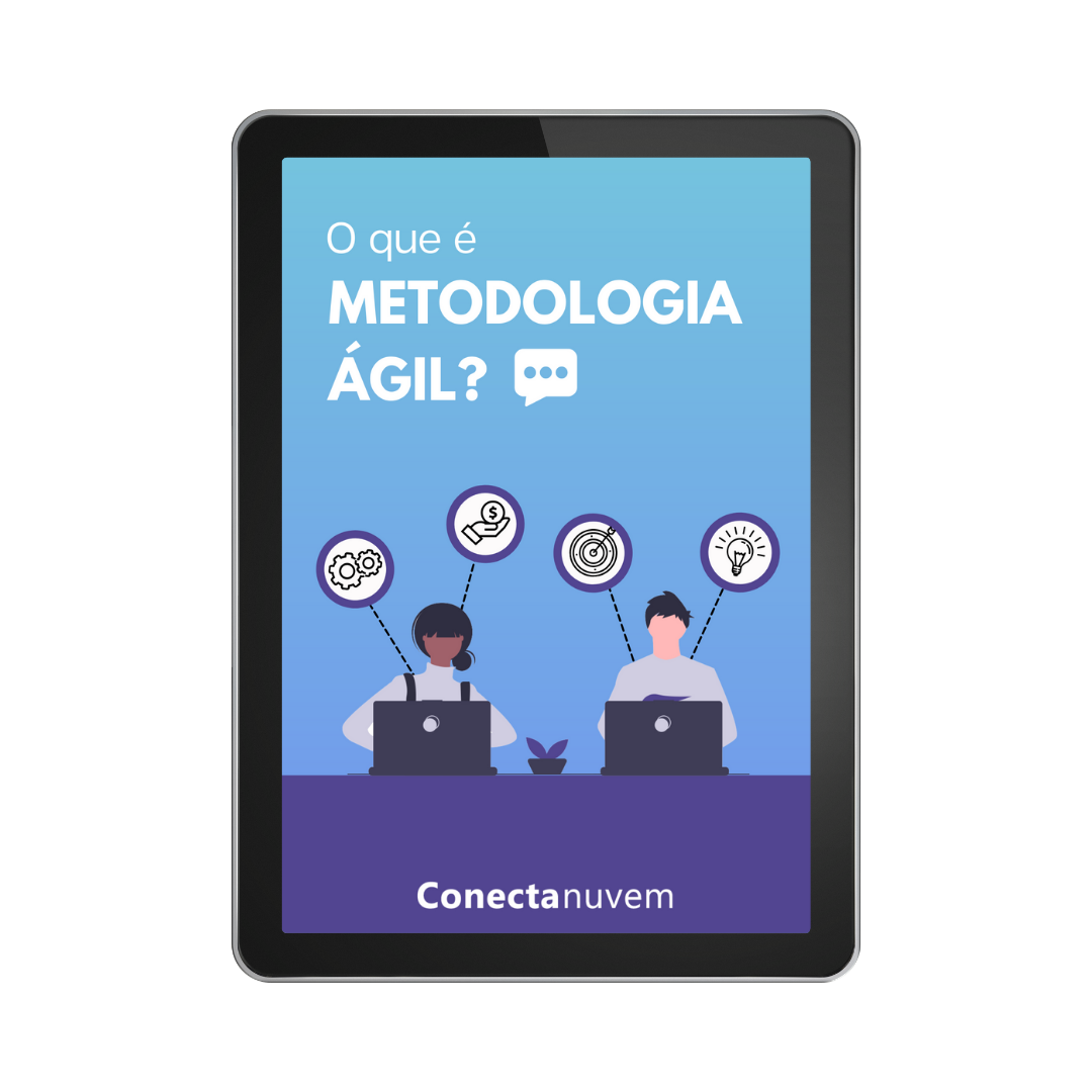 metodologia ágil - mockup tablet