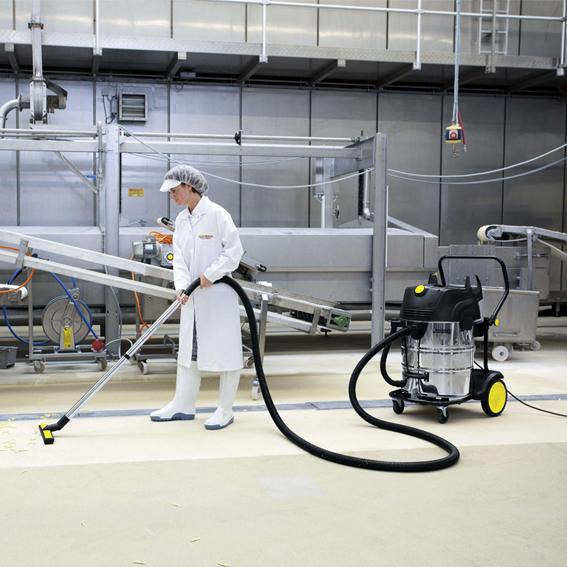 Lavadora e secadora de piso Kärcher