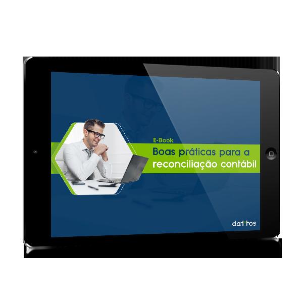 E-book Boas práticas para a gestão e análise da reconciliação contábil