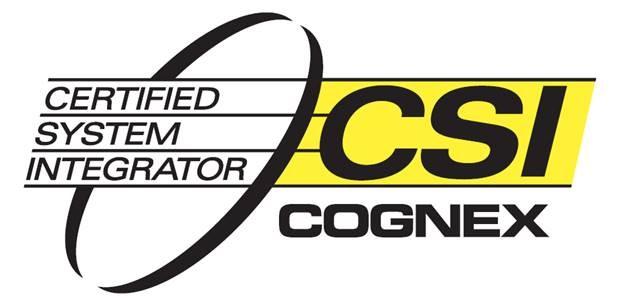 Selo Cognex - empresa integradora - siq systems