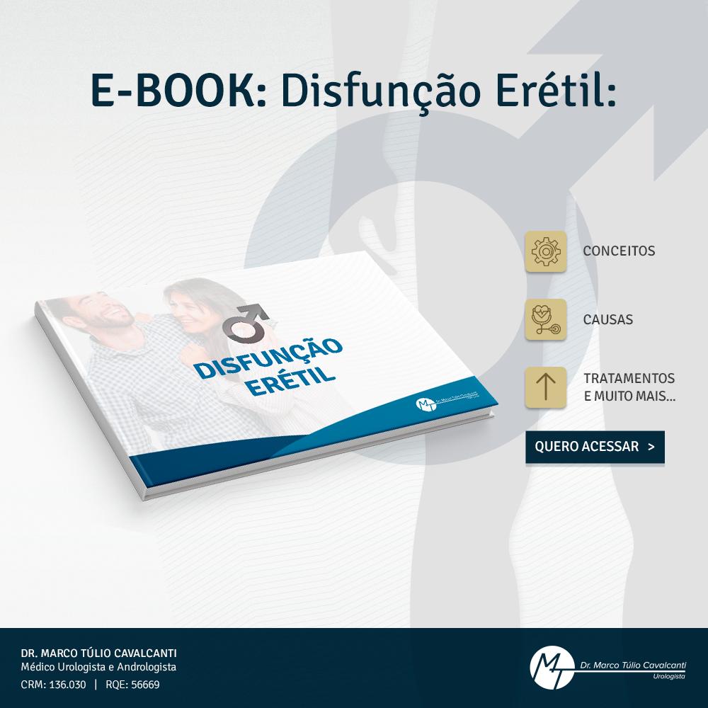 Baixe nosso E-book tudo sobre Disfunção Erétil
