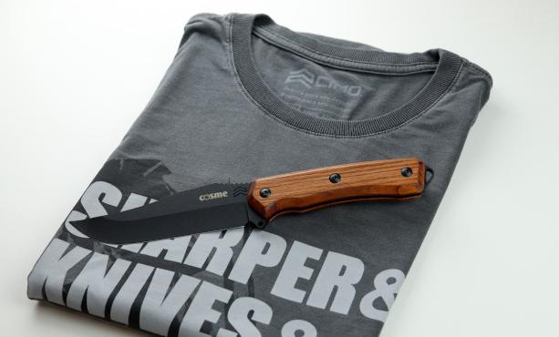 camiseta e faca CIMO