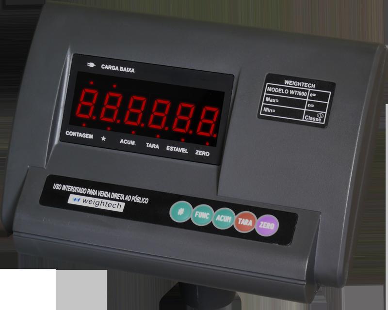 Indicador de pesagem Weightech WT1000-LED