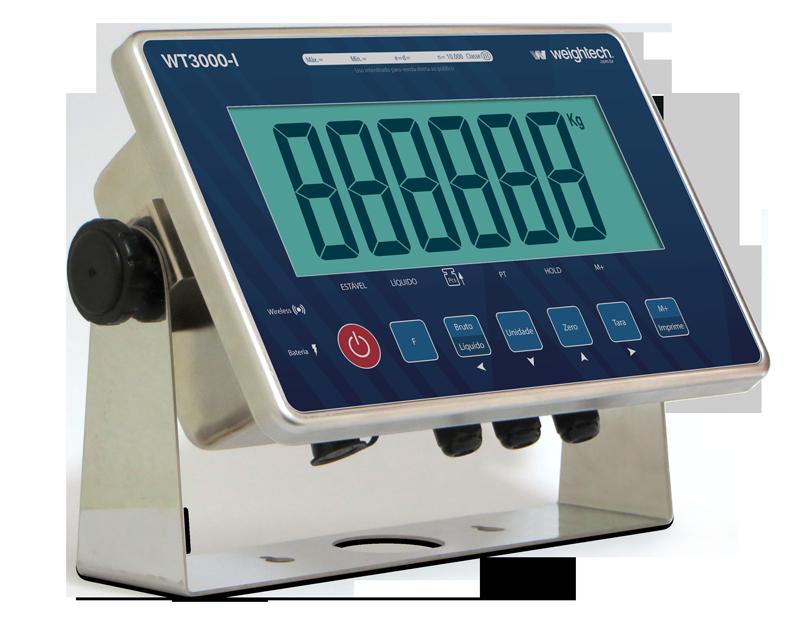 Indicador de pesagem Weightech WT3000-iR