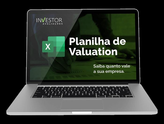 planilha valuation