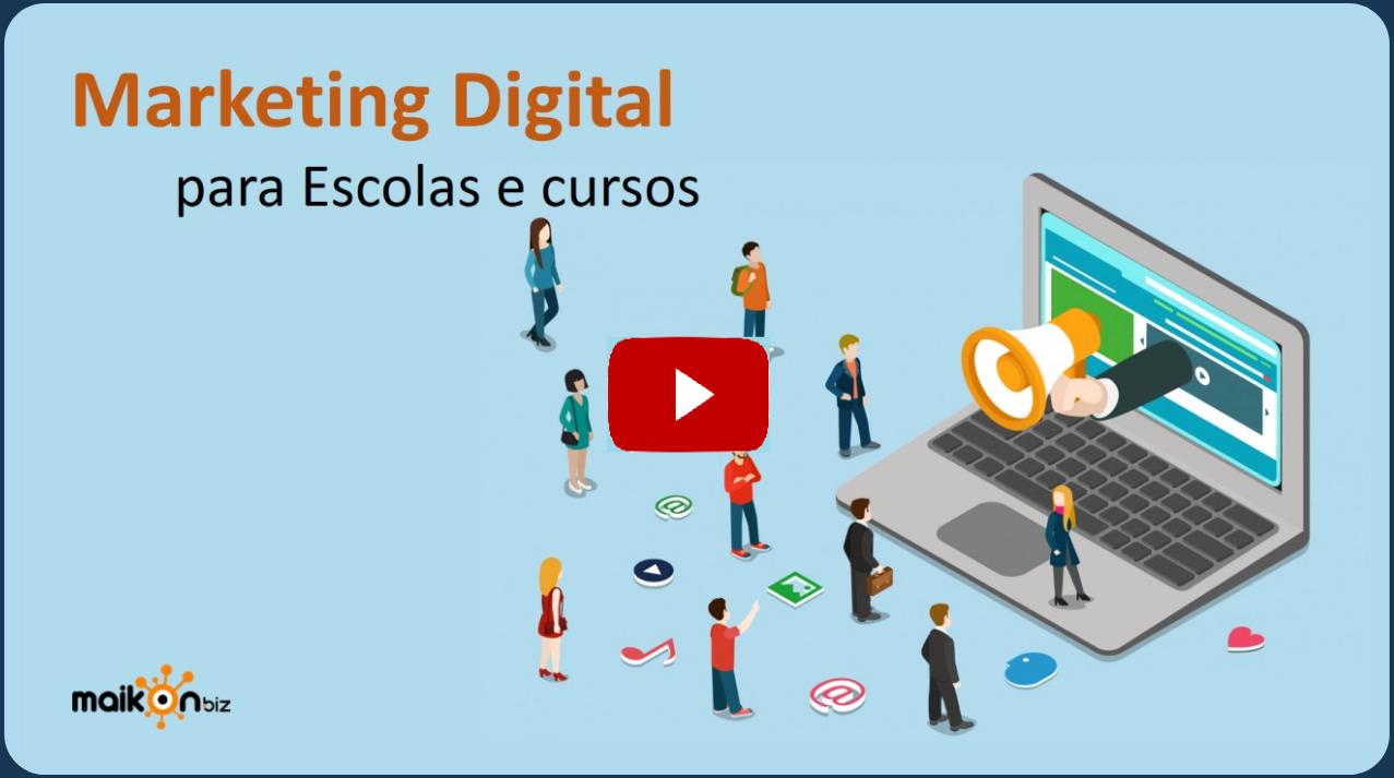 Marketing digital para escolas e cursos