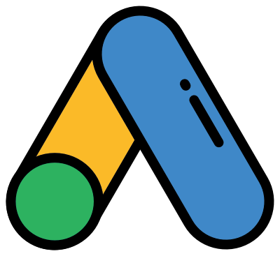 Ícone do curso de Google Ads da M2up