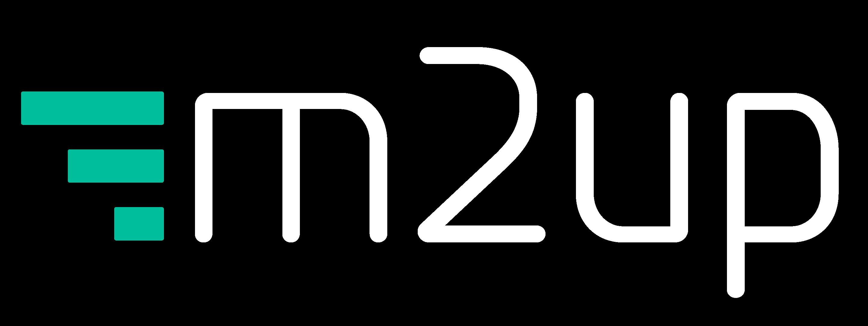 Logotipo da M2up
