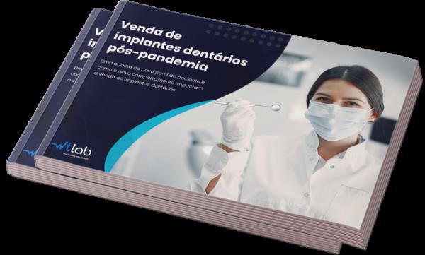 Capa Ebook Venda de implantes dentários pós-pandemia