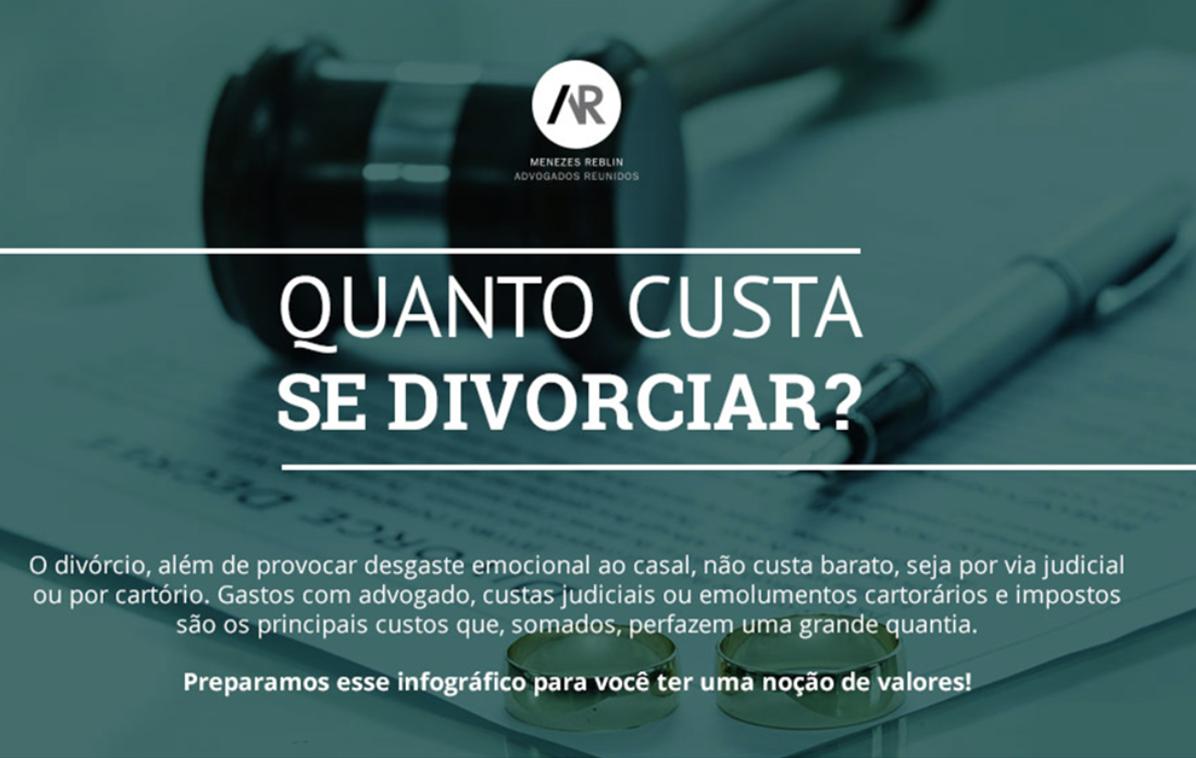 Infográfico: Quanto custa se divorciar?