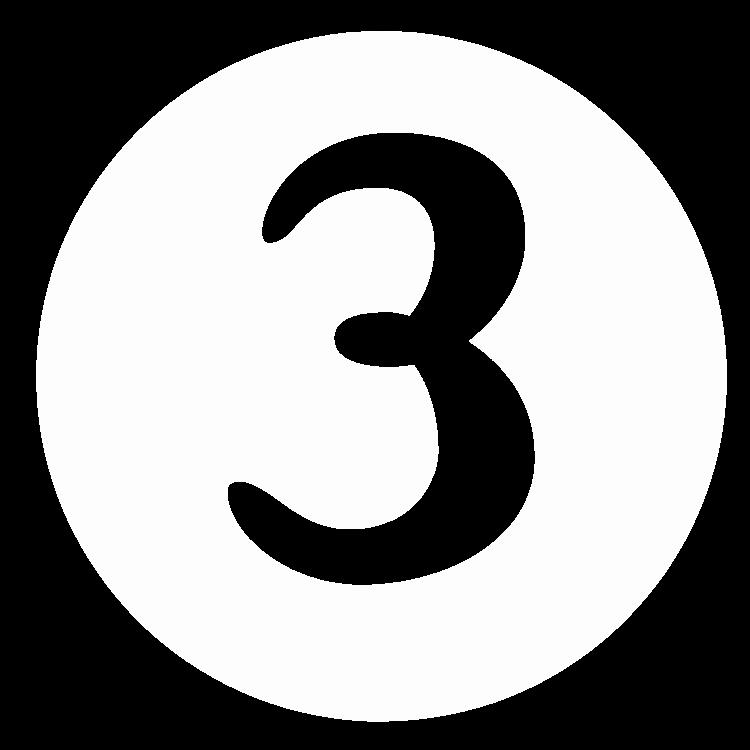 Número três