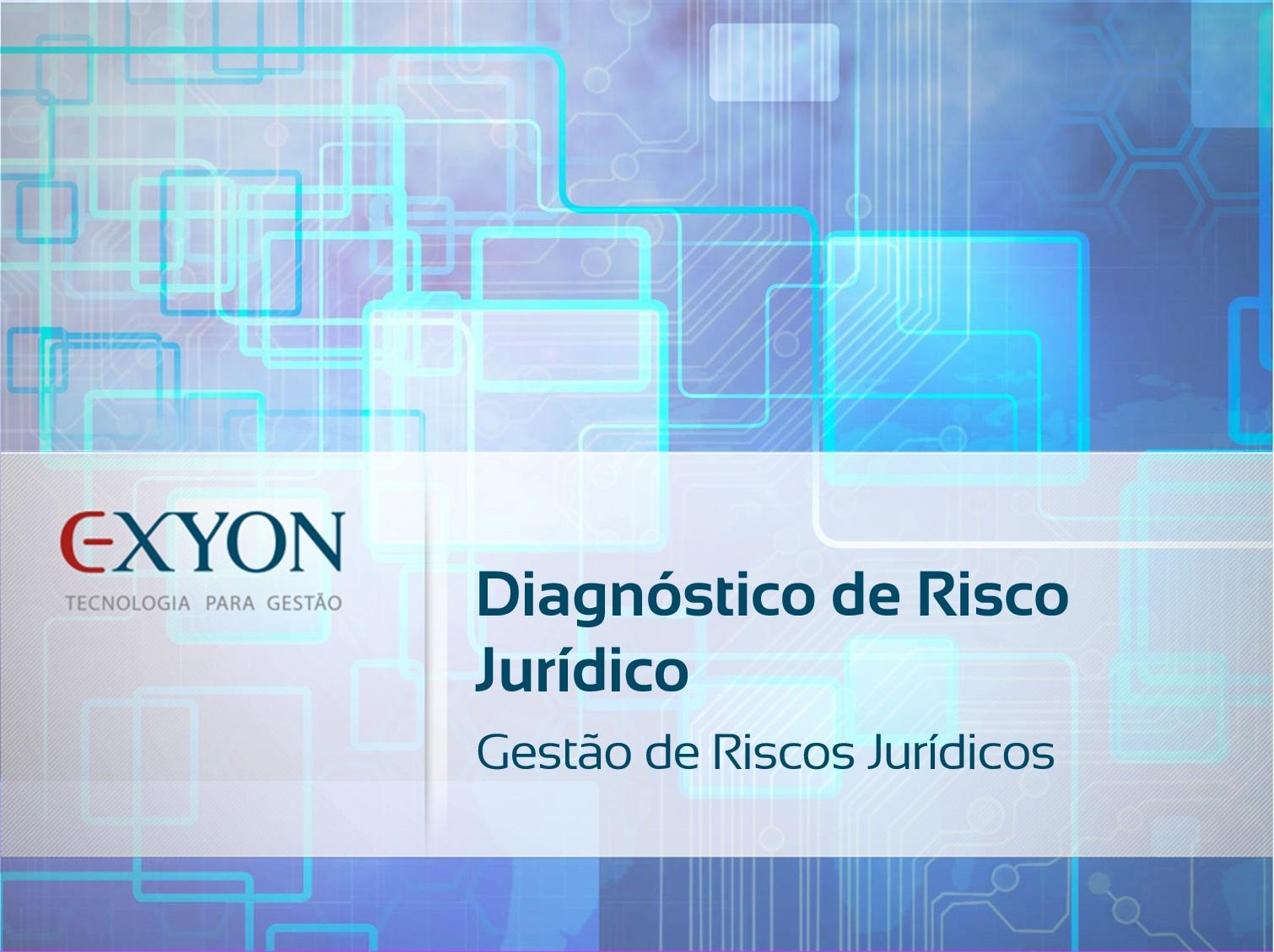 Capa - Diagnóstico de Risco Jurídico