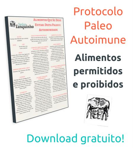 Tabela protocolo paleo autoimune
