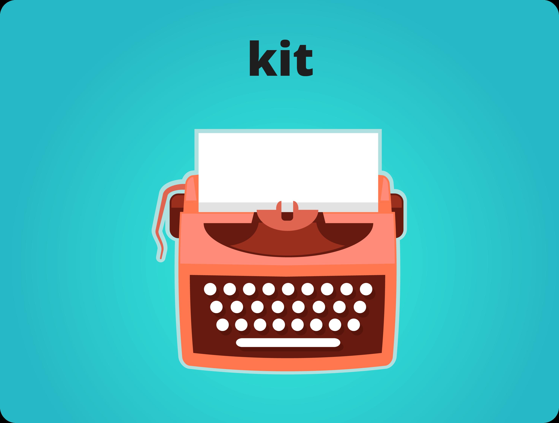 kit de produção de conteúdo