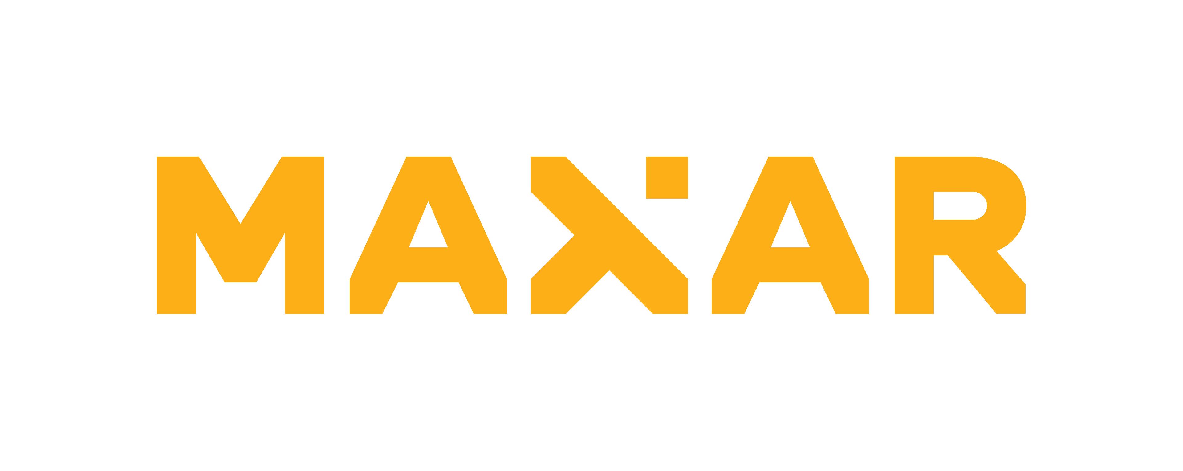 Logotipo Maxar