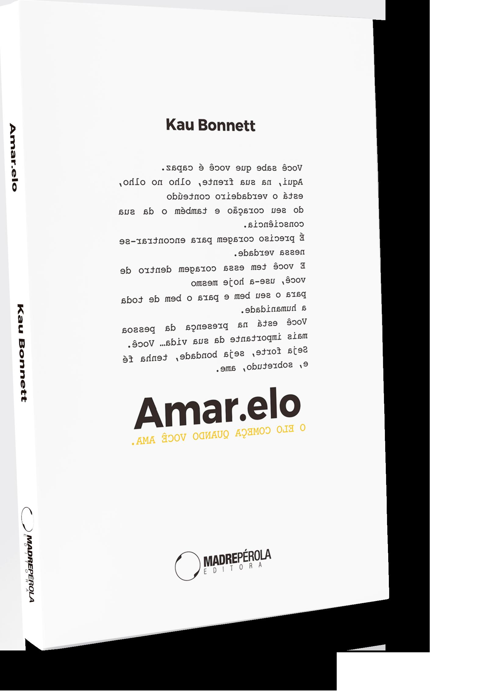 Mockup do livro Amar.elo