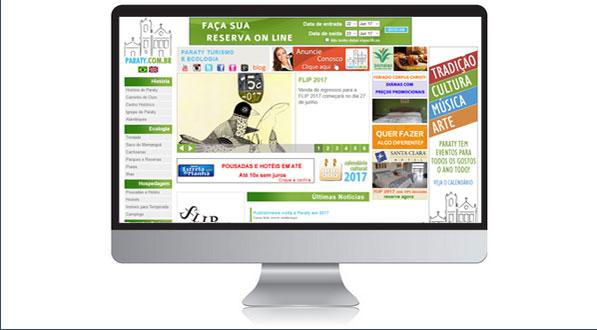 Home Page de Paraty