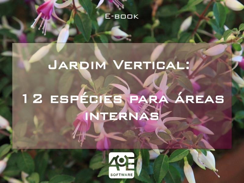eBook: Jardim Vertical - 12 Espécies para Áreas Internas