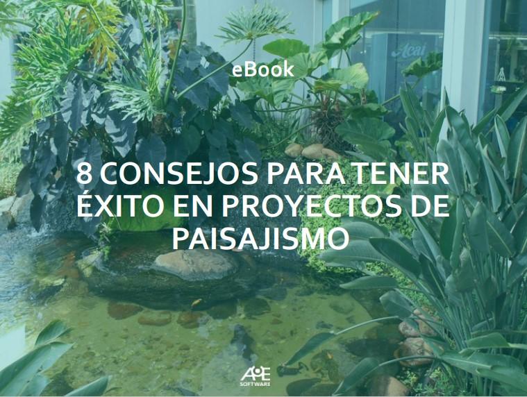 eBook 8 consejos para tener éxito en proyectos de paisajismo