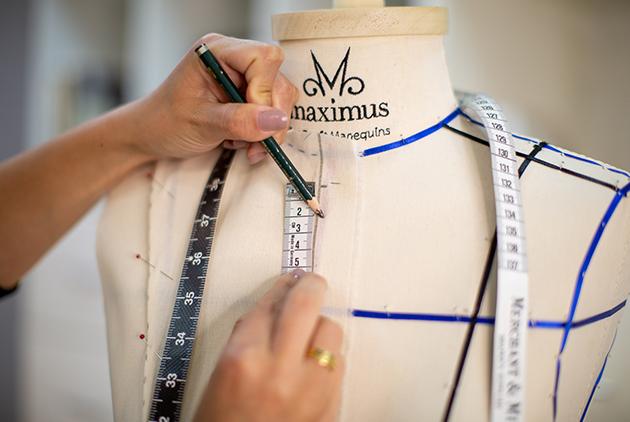 Manequim de Moulage Maximus Tecidos marca Draft Manquins