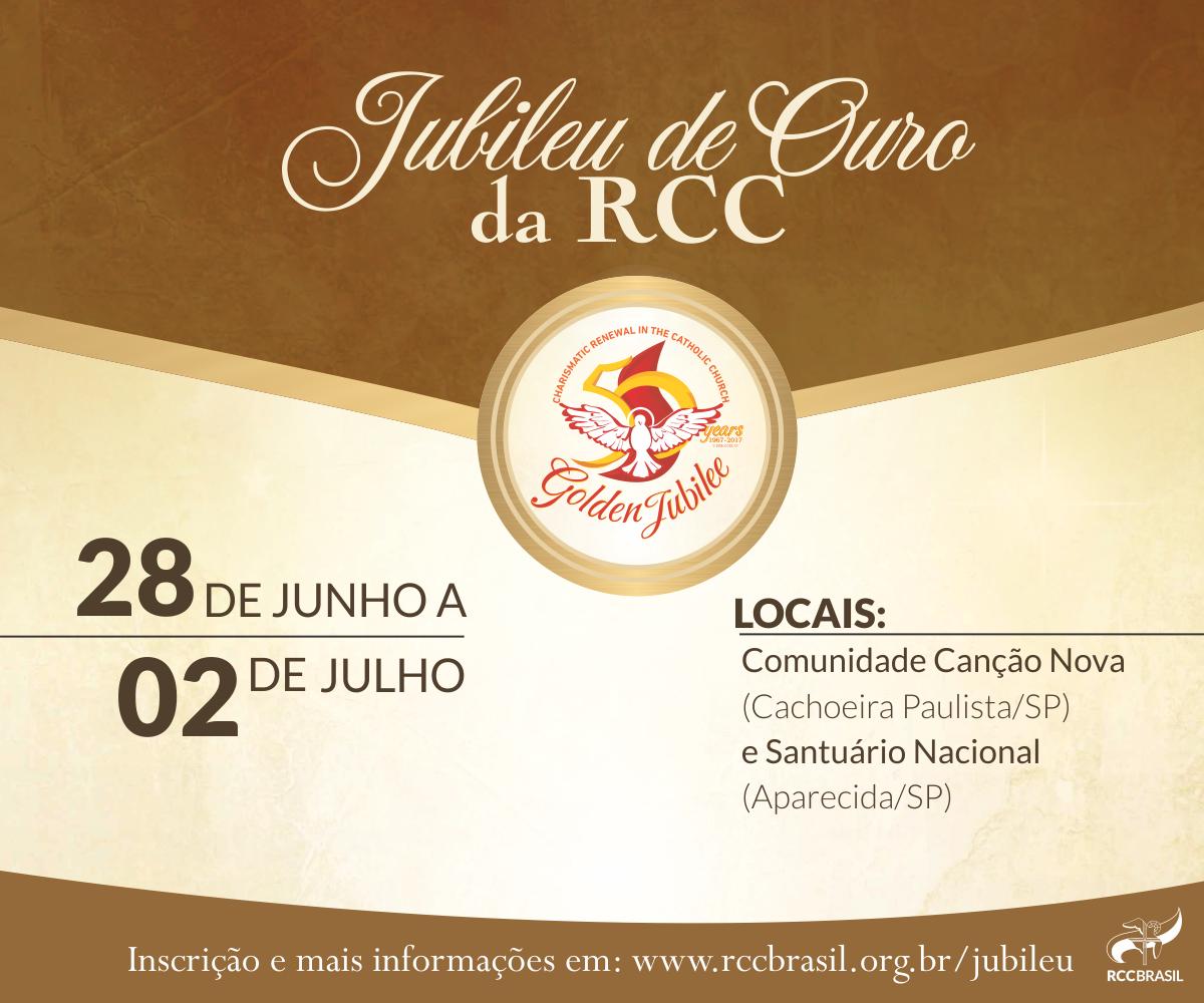 Festa dos 50 anos da RCC