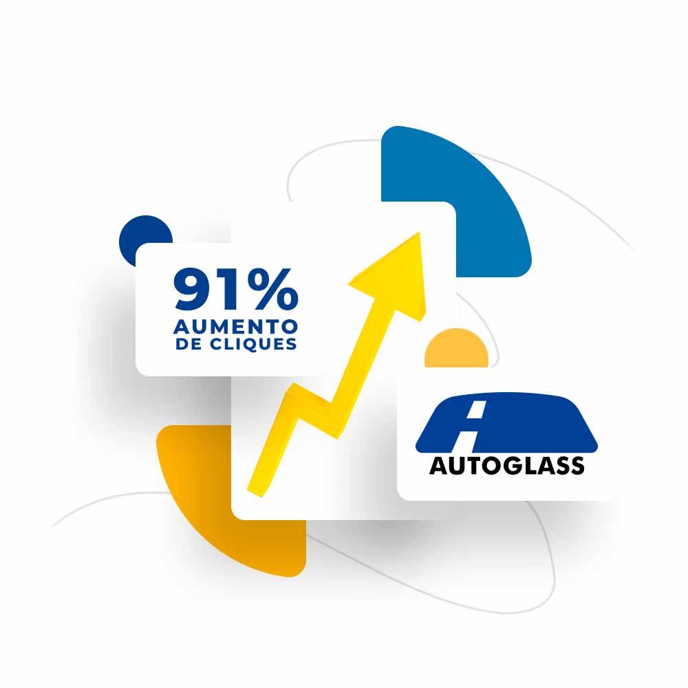 Campanha de mídia de performance para Autoglass