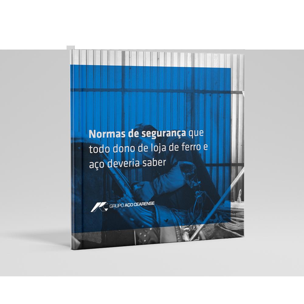 Capa do e-book normas de segurança