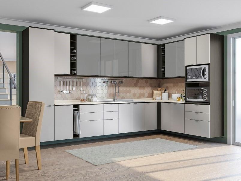 Cozinha Nos Onix/Steel