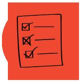 imagem de checklist: passos para elaborar seu plano