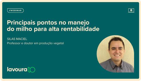 Imagem de um tablet com o título da palestra online gratuita com Silas Maciel