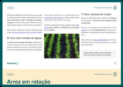 Imagem de um tablet verde escuro mostrando a visualização de parte do e-book