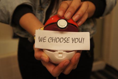 Nós escolhemos você
