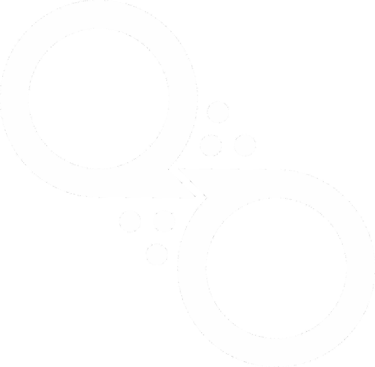 quimicolla símbolo branco