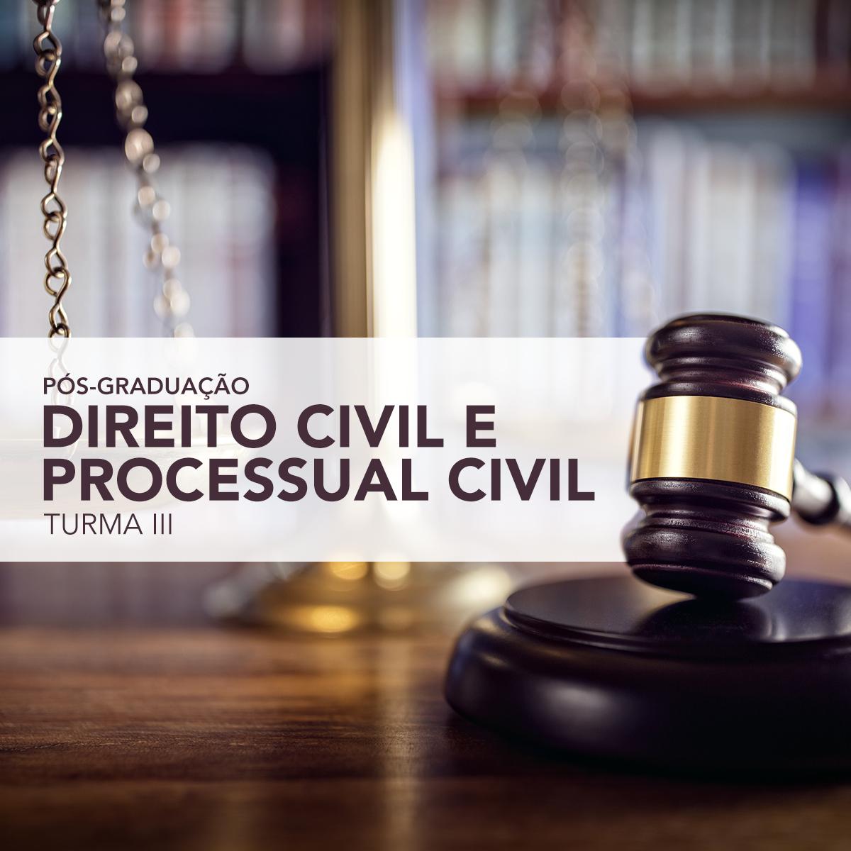 Pós-Graduação em Direito Civil e Processual Civil da Fasam - Faculdade Sul-Americana