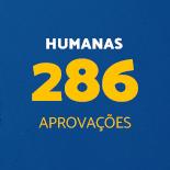 Humanas 286 Aprovações