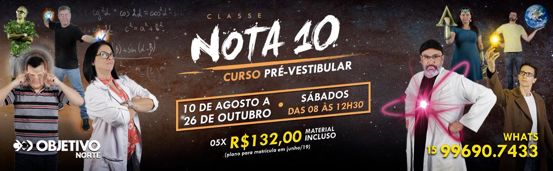 Classe NOTA 10